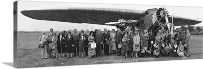 Amelia Earhart Washington DC Airfield