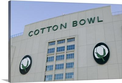 An American football stadium, Cotton Bowl Stadium, Fair Park, Dallas, Texas