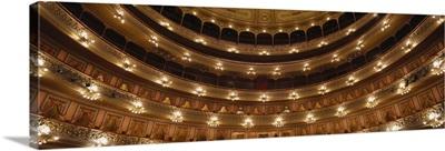 Argentina, Buenos Aires, Colon Theater, interior