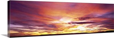 Arizona, Canyon De Chelly, sunset