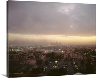 Arizona, Phoenix, Dust storm in Phoenix