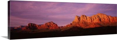 Arizona, Red Rocks Country, sunset