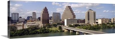 Austin Skyline w/ Town Lake Texas