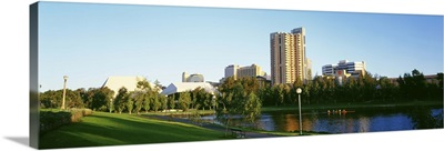 Australia, Adelaide, Park in the city