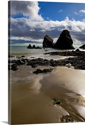 Ballydowane Cove, Copper Coast Geopark, Near Bunmahon, County Waterford, Ireland