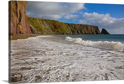 Ballydowane Cove, The Copper Coast, County Waterford, Ireland