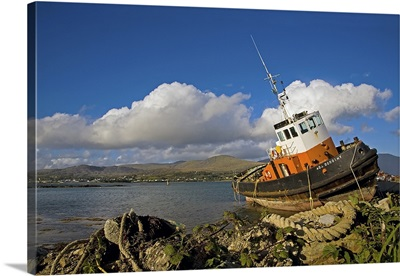 Ballynakilla Harbour, Bear Island, Beara Peninsula, County Cork, Ireland