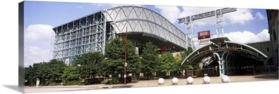 Baseball field, Minute Maid Park, Houston, Texas