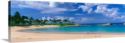 Beach at Ko Olina Resort Oahu Hawaii