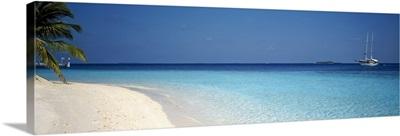 Beach & Boat Scene The Maldives