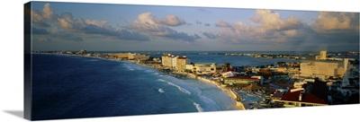 Beach front Cancun Mexico