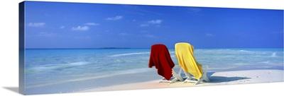 Beach Scenic The Maldives