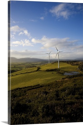 Beallough Windfarm, Above Portlaw, County Waterford, Ireland