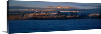 Ben Ohau Mtn Range New Zealand