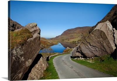 Black Lake, The Gap of Dunloe, Killarney National Park, County Kerry, Ireland
