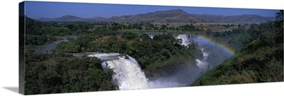 Blue Nile Falls Near Lake Tana Ethiopia Africa