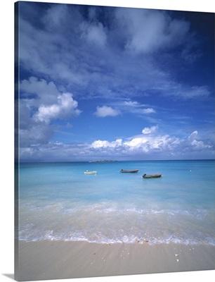 Boats Tropical Caribbean Sea Antilles