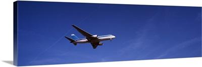 Boeing 767 Airplane In Flight