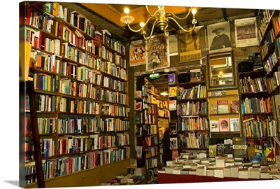 Bookstore, Shakespeare And Company, Paris, Ile-De-France, France