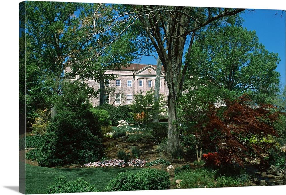 Botanical Garden And A Museum, Cheekwood Botanical Garden And Museum Of Art,  Nashville,