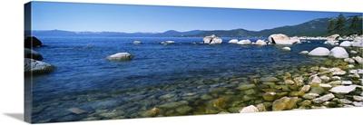 Boulders at the coast, Lake Tahoe, California