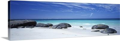 Boulders on the beach, Flinders Bay, Western Australia, Australia
