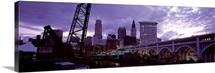 Bridge across a river, Detroit Avenue Bridge, Cleveland, Ohio