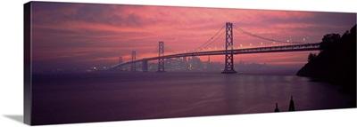 Bridge across a sea Bay Bridge San Francisco California