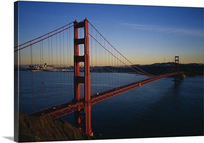 Bridge across the sea, Golden Gate Bridge, San Francisco, California