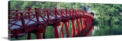 Bridge Hoan Kiem Lake Hanoi Vietnam