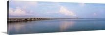 Bridge over an inlet, Oregon Inlet, Outer Banks, North Carolina