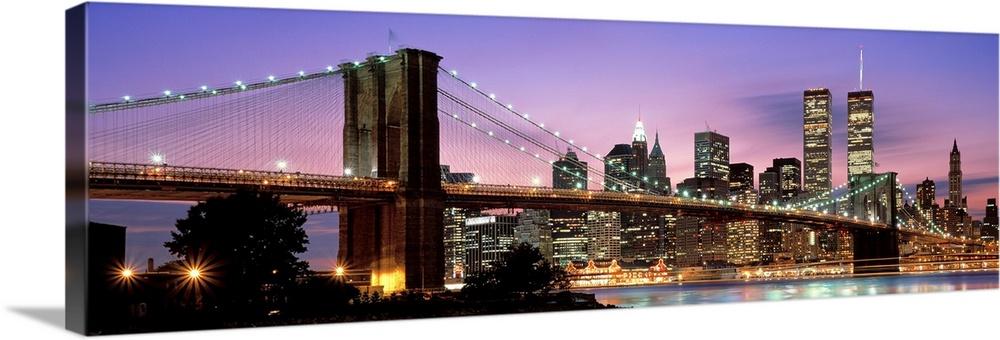 Brooklyn Bridge New York NY USA