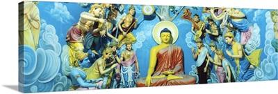Buddhist Temple Sri Pushparama Sri Lanka