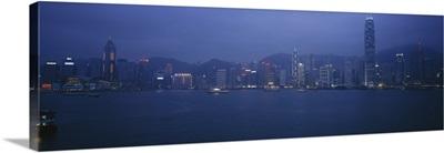 Building at the waterfront, Hong Kong, China