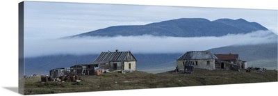 Buildings at Doubtful Village, Wrangel Island, Russia