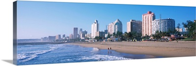 Buildings at the beachfront, Golden Mile, Durban, South Africa