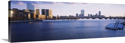 Buildings at the waterfront, Charles River, Boston, Massachusetts