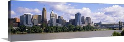 Buildings at the waterfront, Cincinnati, Hamilton county, Ohio