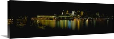 Buildings at the waterfront, Cincinnati, Ohio