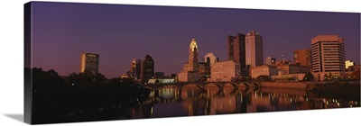 Buildings at the waterfront, Columbus, Ohio