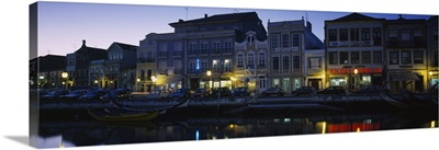 Buildings at the waterfront, Costa De Prata, Aveiro, Portugal