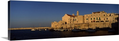Buildings at the waterfront, Giovinazzo, Puglia, Italy