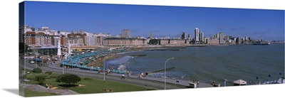 Buildings at the waterfront, Mar Del Plata, Argentina