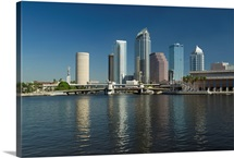 Buildings at the waterfront, Tampa, Hillsborough County, Florida