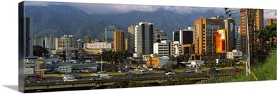Buildings in a city Caracas Venezuela