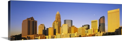 Buildings in a city, Charlotte, Mecklenburg County, North Carolina