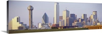 Buildings in a city, Dallas, Texas