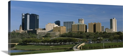Buildings in a city, Fort Worth, Texas