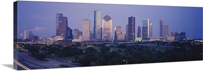 Buildings in a city, Houston, Texas