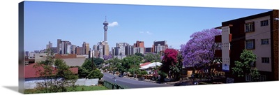 Buildings in a city, Johannesburg, South Africa